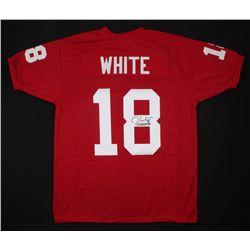 "Jason White Signed Oklahoma Sooners Jersey Inscribed ""03 Heisman"" (JSA COA)"