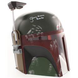 """Jeremy Bulloch Signed """"Star Wars"""" Boba Fett Full-Size Helmet Inscribed """"Boba Fett"""" (JSA Hologram)"""