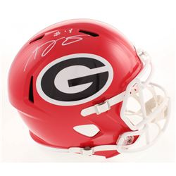 A.J. Green Signed Georgia Bulldogs Full-Size Speed Helmet (JSA COA)
