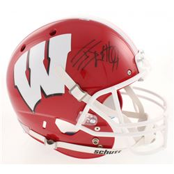 J.J. Watt Signed Wisconsin Badgers Full-Size Helmet (JSA COA  Watt Hologram)