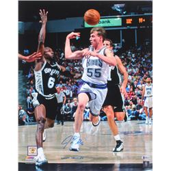 "Jason Williams Signed Sacramento Kings 16x20 Photo Inscribed ""White Chocolate"" (Beckett COA)"