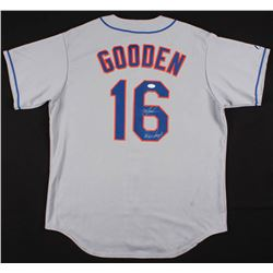 "Dwight ""Doc"" Gooden Signed New York Mets Jersey Inscribed ""86 W.S Champs"" (JSA COA)"