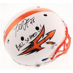 "Terrell Suggs Signed Arizona State Sun Devils Full-Size Helmet Inscribed ""Ball So Hard U!"" (Radtke C"
