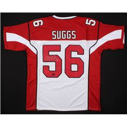 Terrell Suggs Signed Arizona Cardinals Jersey (Radtke COA)