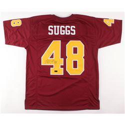 Terrell Suggs Signed Arizona State Sun Devils Jersey (Radtke COA)