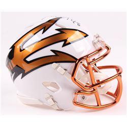 Terrell Suggs Signed Arizona State Sun Devils Speed Mini-Helmet (Radtke COA)