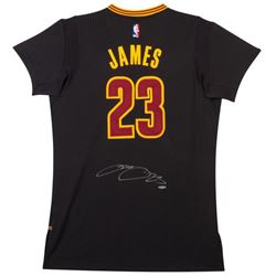 "LeBron James Signed Cleveland Cavaliers ""Pride"" Jersey (UDA COA)"