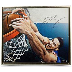 "Ben Simmons Signed Philadelphia 76ers ""Jam"" Limited Edition 20x24 Custom Framed Photo (UDA COA)"