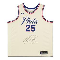 Ben Simmons Signed Philadelphia 76ers City Edition Jersey (UDA COA)