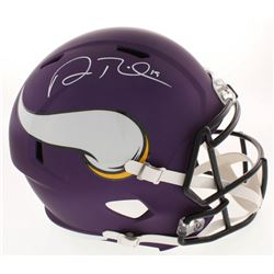 Adam Thielen Signed Minnesota Vikings Full-Size Speed Helmet (Beckett COA)