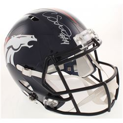 Courtland Sutton Signed Denver Broncos Full-Size Speed Helmet (JSA COA)
