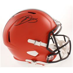 Odell Beckham Jr. Signed Cleveland Browns Full-Size Speed Helmet (JSA COA)