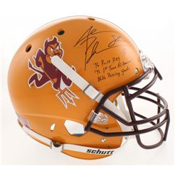 "Jake Plummer Signed Arizona State Sun Devils Full-Size Authentic On-Field Helmet Inscribed ""'96 Pac1"
