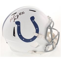 Marlon Mack Signed Indianapolis Colts Full-Size Speed Helmet (Beckett COA)
