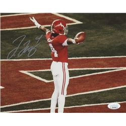 Jerry Jeudy Signed Alabama Crimson Tide 8x10 Photo (JSA COA)