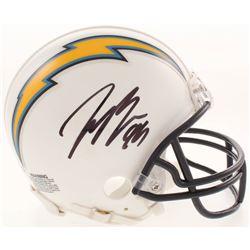 Joey Bosa Signed Los Angeles Chargers Mini Helmet (Beckett COA)
