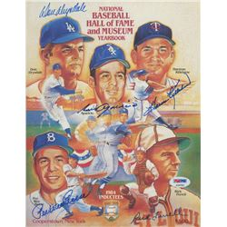 National Baseball Hall of Fame and Museum Yearbook Signed By (4) with Harmon Killebrew, Luis Aparici