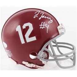 Jerry Jeudy Signed Alabama Crimson Tide Mini Helmet (JSA COA)