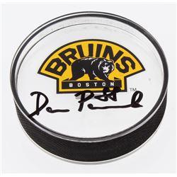 David Pastrnak Signed Boston Bruins Acrylic Hockey Puck (Your Sports Memorabilia Store COA)