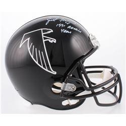 "Brett Favre Signed Atlanta Falcons Full-Size Helmet Inscribed ""1991 Rookie Year"" (JSA COA)"
