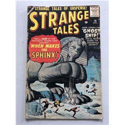 """1959 """"Strange Tales"""" #70 Marvel Comic Book"""