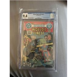 """1981 """"World's Finest"""" #273 White Pages DC Comic Book (CGC 9.4)"""