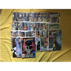 "Lot of (38) 1987-2003 ""Superman"" 2nd Series DC Comic Books"