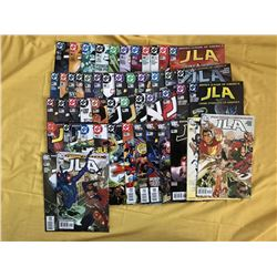 "Lot of (49) 2002-06 ""Justice League of America"" DC Comic Books"