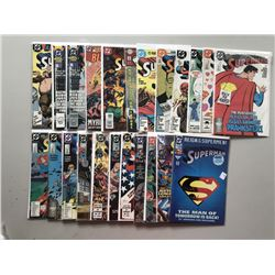"""Lot of (43) 1987-2008 Annual """"Superman"""" 2nd Series DC Comic Books"""