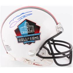 Mike Ditka Signed Pro Football Hall of Fame Commemorative Mini Helmet (JSA COA)
