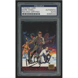 "Mark Hamill Signed ""Star Wars"" Trading Card (PSA Encapsulated)"