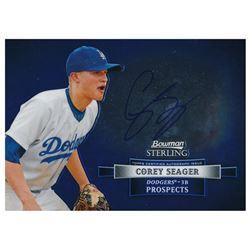 2012 Bowman Sterling Prospect Autographs #CS Corey Seager