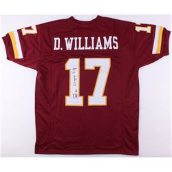 "Doug Williams Signed Washington Redskins Jersey Inscribed ""SB XXII MVP"" (JSA COA)"