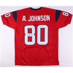Andre Johnson Signed Houston Texans Jersey (JSA COA)