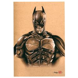 "Thang Nguyen - ""Batman"" 8x12 Signed Limited Edition Giclee on Fine Art Paper #/100"