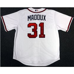 "Greg Maddux Signed Atlanta Braves Jersey Inscribed ""HOF 14"" (TriStar Hologram)"