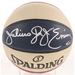 "Julius ""Dr. J"" Erving Signed ABA Basketball (Beckett LOA)"