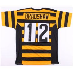 Terry Bradshaw Signed Pittsburgh Steelers Throwback Jersey (Radtke COA)