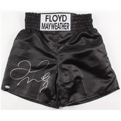 Floyd Mayweather Jr. Signed Boxing Trunks (Beckett COA)