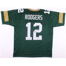 Aaron Rodgers Signed Green Bay Packers Jersey (Steiner Hologram)