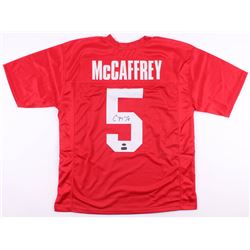 Christian McCaffrey Signed Stanford Cardinal Jersey (Radtke COA  McCaffrey Hologram)
