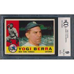 1960 Topps #480 Yogi Berra (BCCG 9)