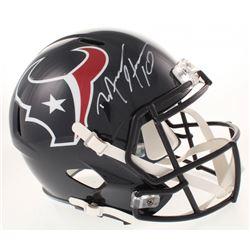 DeAndre Hopkins Signed Houston Texans  Full-Size Speed Helmet (TriStar Hologram)