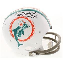 "Paul Warfield Signed Miami Dolphins Throwback TK Suspension Full Size Helmet Inscribed ""HOF '83"" (Ra"