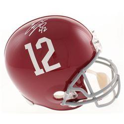 Eddie Lacy Signed Alabama Crimson Tide Full-Size Helmet (Radtke COA  Lacy Hologram)