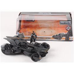 "Ben Affleck Signed Batman ""Justice League"" 1:24 Scale Metal Die Cast Batmobile (Beckett COA)"