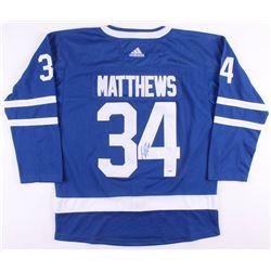 Auston Matthews Signed Toronto Maple Leafs Jersey (PSA COA)