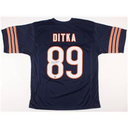 Mike Ditka Signed Chicago Bears Jersey (Schwartz COA)