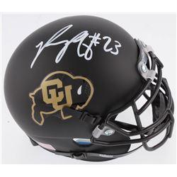 Phillip Lindsay Signed Colorado Buffaloes Mini Helmet (Radtke COA)