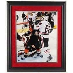 Andrew Shaw Signed Chicago Blackhawks 23x27 Custom Framed Photo Display (Schwartz Sports COA)